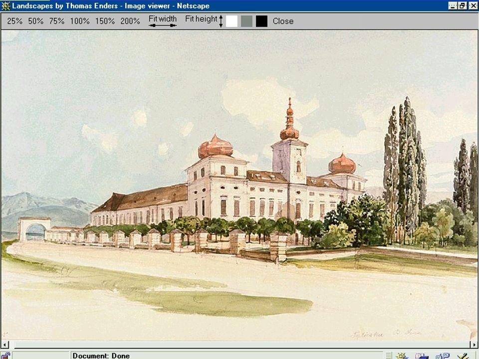 Thomas Ender, [1860-1861 ] Das Sina-Schloß in Vágtapolca MTAK, Ms 4409/59